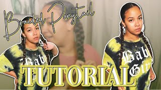 Braided Ponytail Tutorial ✨ | Crissy Danielle