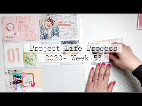 Project Life Process 2021- Week 1