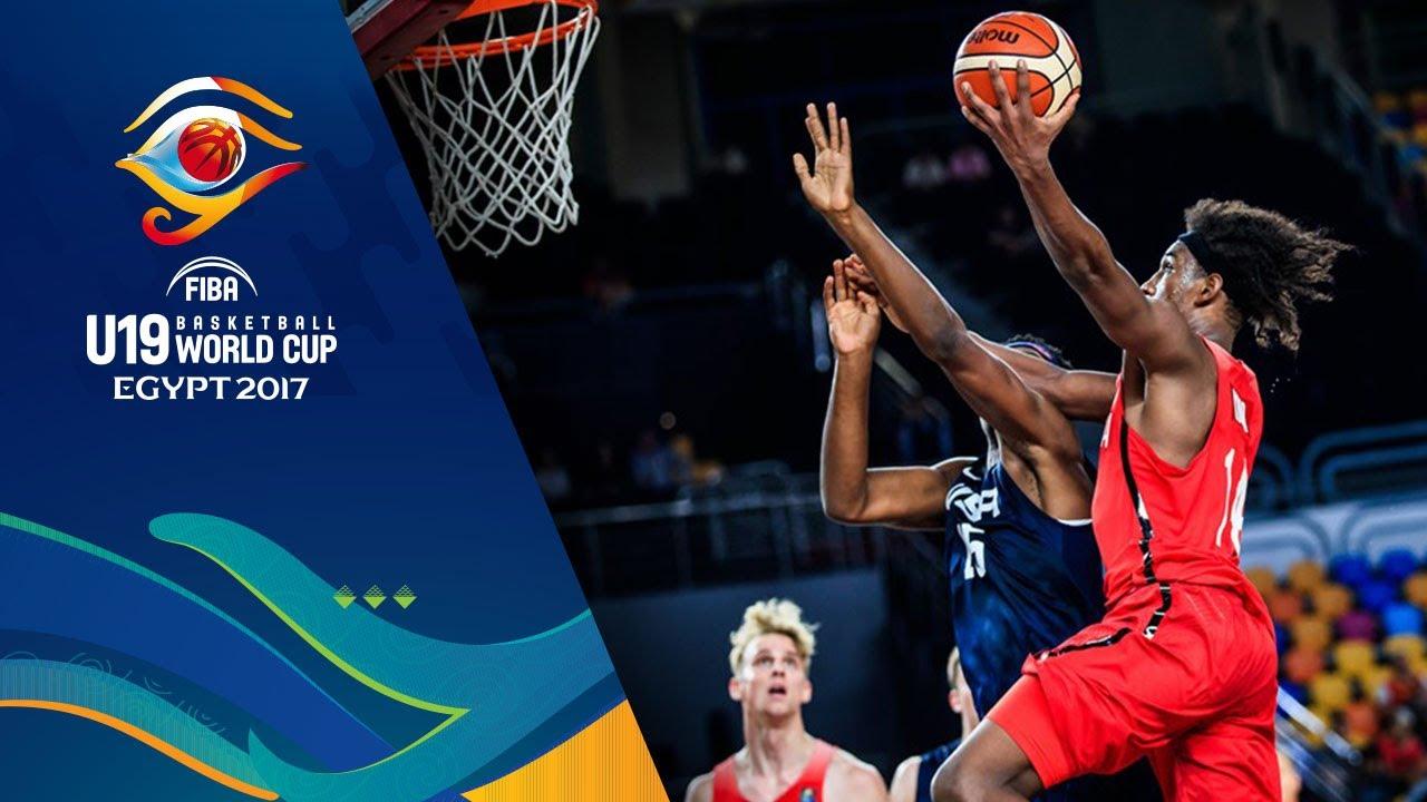 a0af886da08eb Canada vs USA - Condensed Game - Semi-Final - FIBA U19 Basketball World Cup  2017