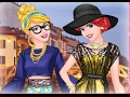 Princess Models At Milan Fashion Week, Disney Movie Cartoon Game for Kids.