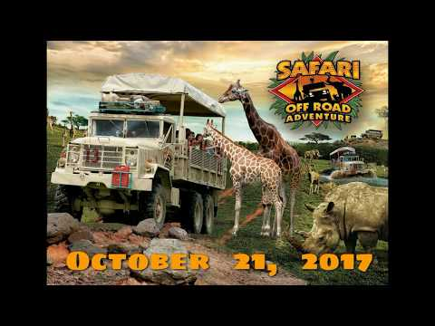 Six Flags Great Adventure Safari Off Road Adventure October 21, 2017
