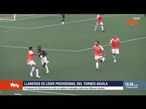 Llaneros vs Cortuluá (3-2) | Torneo Aguila 2019-I | Fecha 6