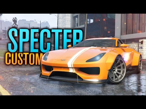 STUPIDLY WIDE SPECTER CUSTOM BUILD! | GTA 5 (Online)