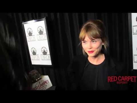 Agata Trzebuchowska, Ida at the 40th Annual LA Film Critics Awards LAFilmCritics LAFCAAwards