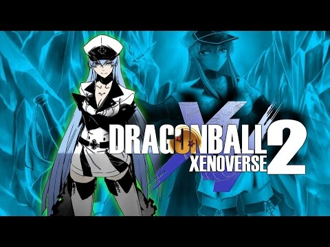 How to make Esdeath In Dragon Ball Xenoverse 2