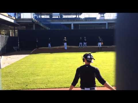 Yankees' Masahiro Tanaka throws spring training bullpen session