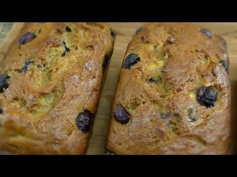 Banana and Blueberry Bread - Ohhlala Café ♥