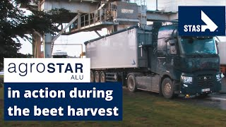 STAS AGROSTAR brings colour to the beet harvest.