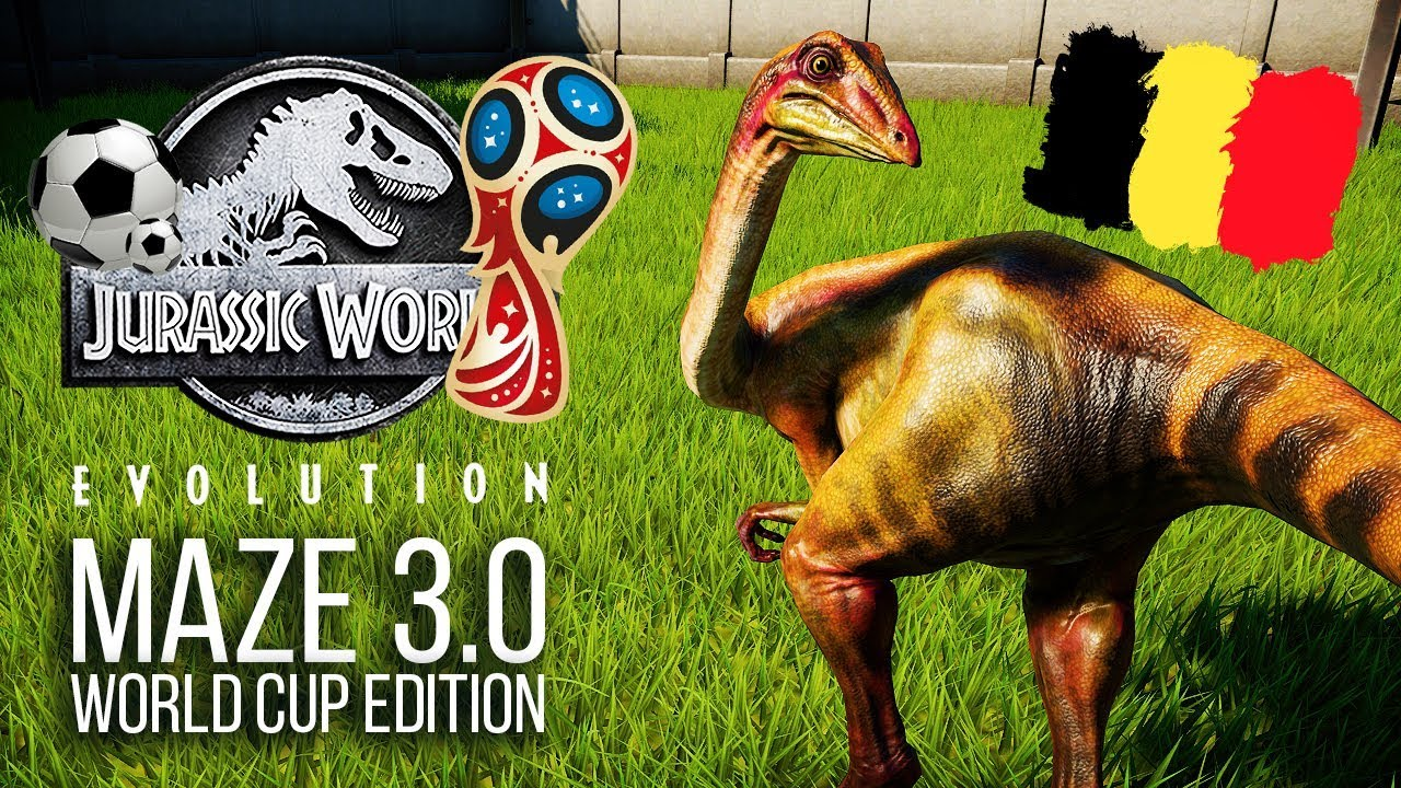 THE MAZE 3.0 - WORLD CUP EDITION! | Jurassic World: Evolution Maze Challenge
