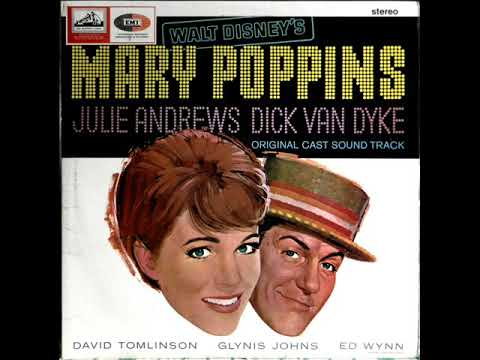 Mary Poppins   A Spoonfull Of Suger Julie Andrew Original Vinyl Track 1964