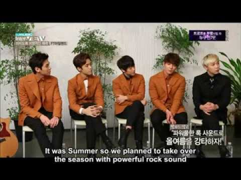 [FTSUB] 131210 FTISLAND The Music Interview Part 1