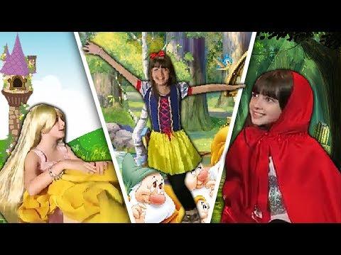 CONTOS DE FADA   Branca De Neve   Rapunzel   Chapeuzinho Vermelho
