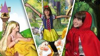 CONTOS DE FADA | Branca De Neve | Rapunzel | Chapeuzinho Vermelho
