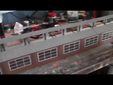 Building a Model Railway – Part 16 – Windows & Roof