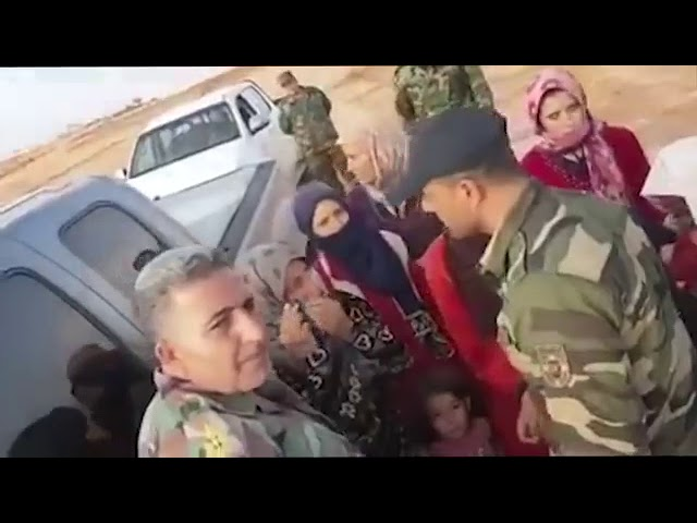 Syrian Army Frees Druze Women & Children from ISIS Captivity