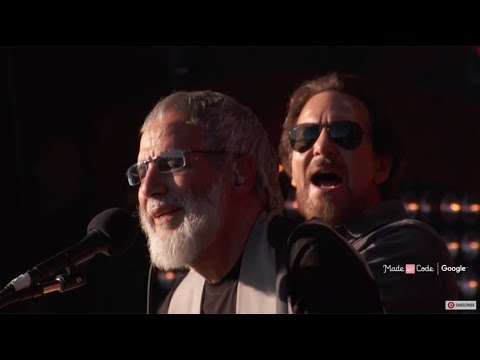 YusufCat Stevens & Eddie Vedder  Father and Son   Global Citizen Festival 2016