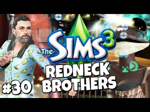 Sims 3 - Redneck Brothers #30 - You are a Wizard Bertram