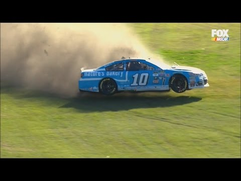 NASCAR Crashes, PowerShares QQQ 300/Daytona 500 2/20 - 2/21/2016 (Live HD)