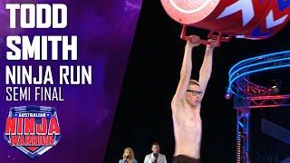 Unseen run: Todd Smith battles through the Semi-Finals | Australian Ninja Warrior 2020