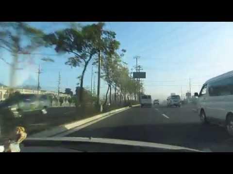Cab Ride at Commonwealth Avenue, Quezon City, Philippines