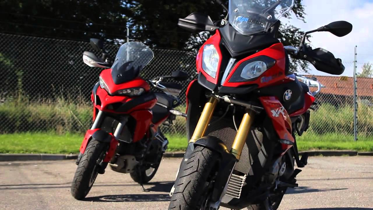 Test: BMW S ... Ducati Youtube Multistrada 2015