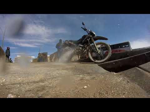 [Motorcycle Travel] Road to Uyuni Bolivia GoPro timelapse