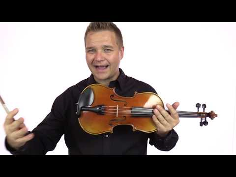 Unlabeled Sample Full Size Violin (No. 64)