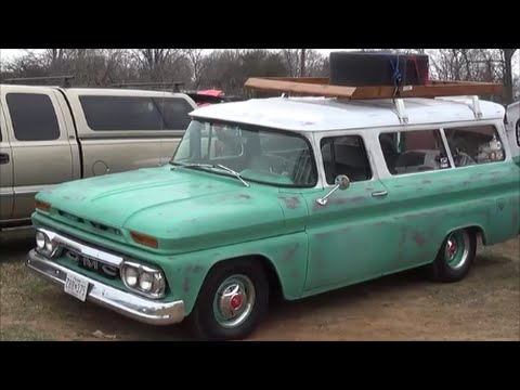 1966 Gmc Suburban Carryall Youtube