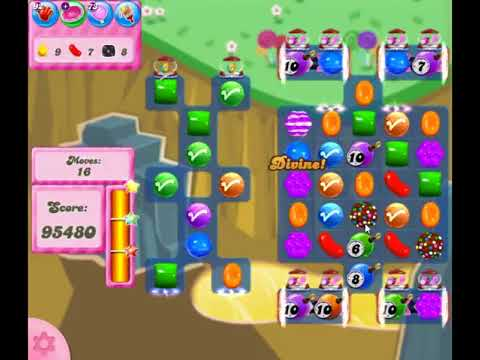 Candy Crush Saga Level 2842 - NO BOOSTERS