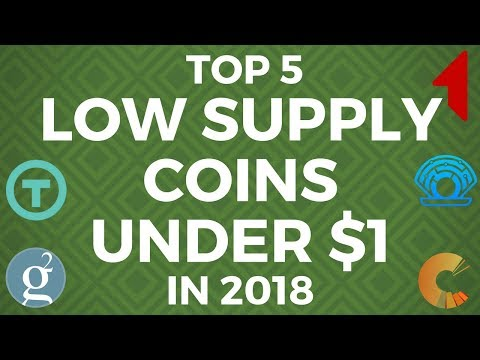 Top 5 Coins UNDER $1 with LOW SUPPLY & SUPER LOW MARKET CAP | PRL, GRS, 1ST, TRST, BCPT