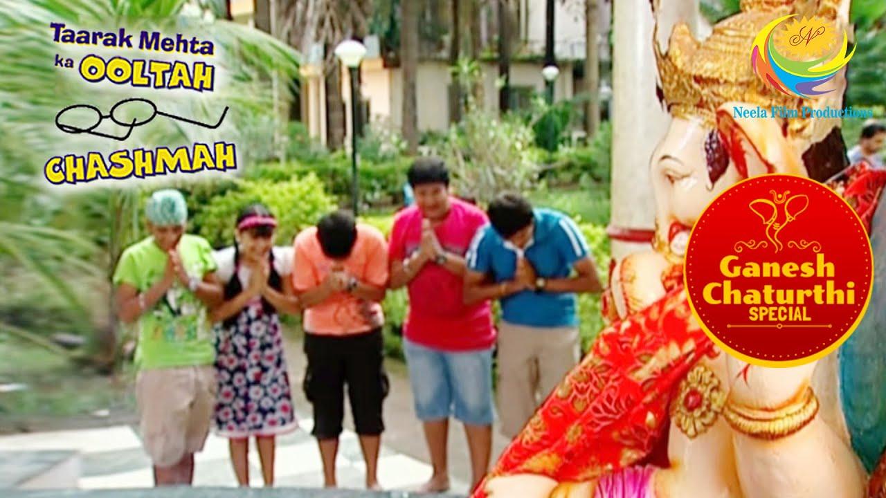 Tapu Sena Prays To Ganpati Bappa | Taarak Mehta Ka Ooltah Chashmah | Ganesh Chaturthi Special