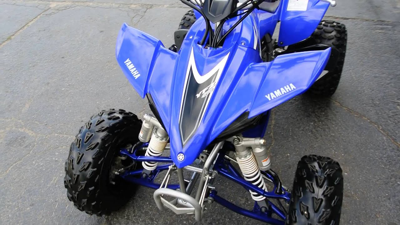 2008 yamaha yfz450 blue youtube for 2008 yamaha yfz450