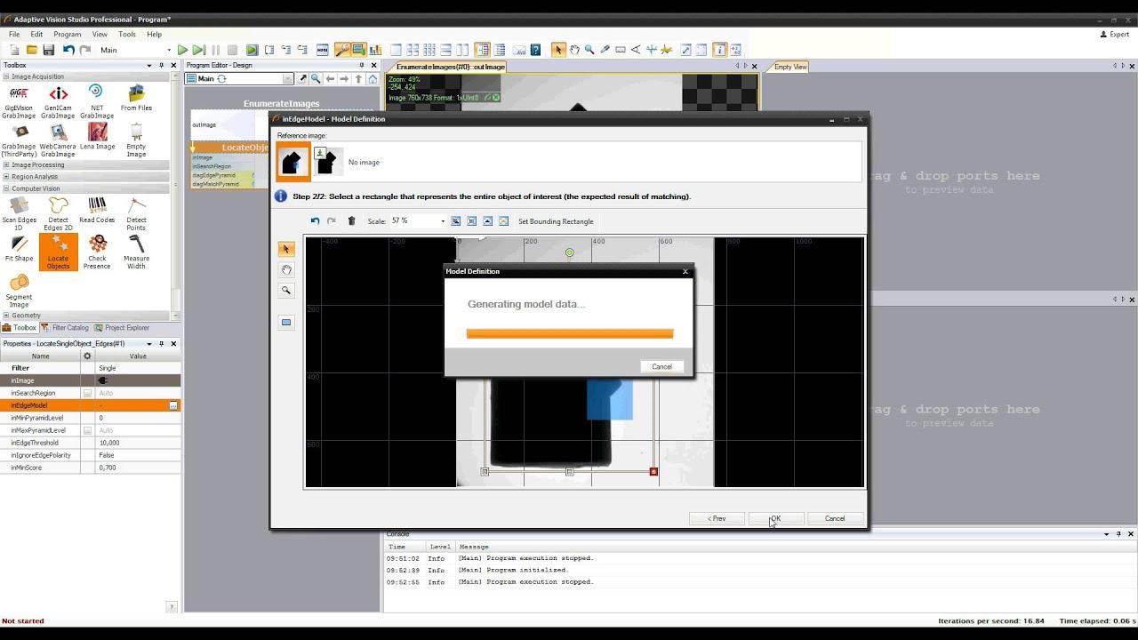 14. Adaptive Vision Studio Tutorial: Template Matching - YouTube