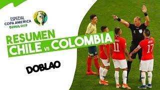 CHILE VS COLOMBIA ⚽   DOBLAO