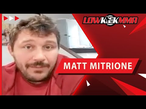 Matt Mitrione Talks Gameplan For Tyrell Fortune: 'I'm Gonna Punch Him In His Face'