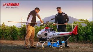 Precision Agriculture With Yamaha RMax Helicopter