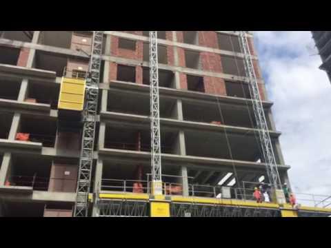 Construction Hoists for Buildings - Mast Climbing Work Platforms
