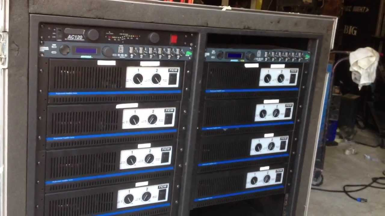 Tcs Audio System 40 000 Watts Eight 3 Way Cabs Power