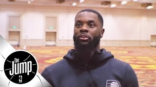 Lance Stephenson makes his case for 'Sneaker King' of the NBA | The Jump | ESPN