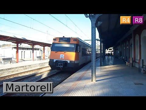 Martorell R4 - R8 : Rodalies Barcelona ( Renfe 253 - 447 - FGC 353 )