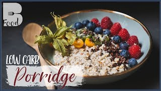 Low Carb PORRIDGE - Schnelles Frühstück auch zum MITNEHMEN