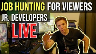 🔴Job For Viewers - Jr. Developers(Giveaway) - NOW ON TWITCH | @joshuafluke everywhere