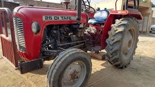 Tafe 25 mast tractor