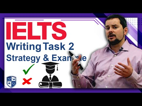 IELTS Writing Task 2 strategies and example essay PART 1 FULL
