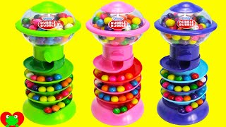 Gumball Banks LEARN Colors and Numbers with Gumballs
