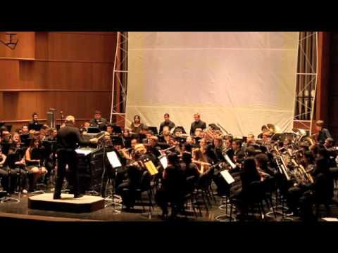 UTSA University Band - Symphonic Suite from Star Trek - April 29, 2012