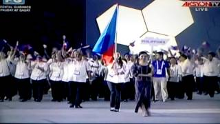 ALYSSA VALDEZ AS PH FLAG BEARER