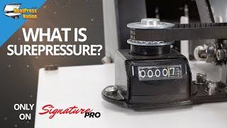 What is SurePressure on HPN Signature PRO Heat Presses?