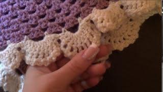 КАК СВЯЗАТЬ шаль. урок вязания 2 / crochet