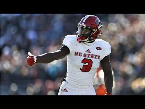 NC State WR Kelvin Harmon || 2018 Season Highlights